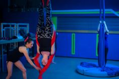 stirling pole and aerial classes; Silks; Hoops
