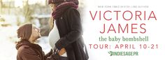 The Baby Bombshell (Shadow Creek, Montana #2) by Victoria James - Blog Tour, Excerpt & #Giveaway #win $15 #GiftCard