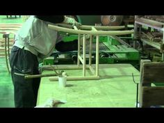 Manufacturing process of Lightwood chair, designed by Jasper Morrison - YouTube