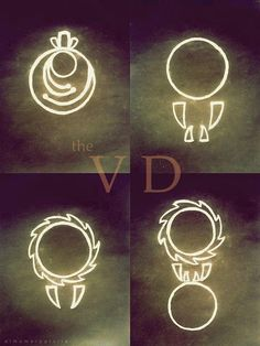 the+vampire+diaries+vampire+hunter+markings | In The Vampire Diaries there have appeared different images and forms ...