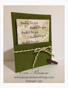 Eva's cards and things: ICS Blog Hop Giving Thanks