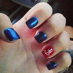 angeladrohan's festive tips. Show us your 4th of July-inspired nails! Tag your pic #SephoraNailspotting to be featured on our social sites.