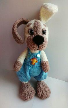 PDF Плюшевый щенок в шортах. Бесплатный мастер-класс, схема и описание для вязания игрушки амигуруми крючком. Вяжем игрушки своими руками! FREE amigurumi pattern. #амигуруми #amigurumi #схема #описание #мк #pattern #вязание #crochet #knitting #toy #handmade #поделки #pdf #рукоделие #собака #собачка #щенок #пёс #пёсик #dog #doggie #doggy #puppy