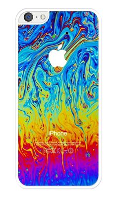 Colorful Abstract Rubber iPhone 5C case. Protective Cover Case #iZERCASE
