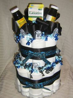 How To Make A Diaper Cake Out Of Depends