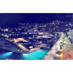 #Fontvieille Good night & sweet dreams! by marikamaeva from #Montecarlo #Monaco