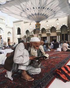 المسجد النبوي، المدينة المنورة.