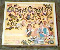 Creepy Crawlers - Thing Maker I still have several of the molds for the creepy crawler thing making