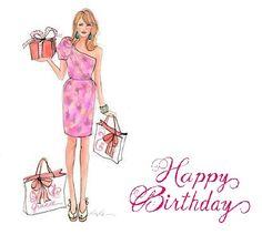 F unny happy birthday wishes fashionista girls - Google Search