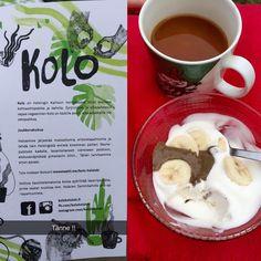 Mahtavaa aorepress kahvia ja kaurajäätelöä tahinilla & banaanilla. Kallioon aukeaa kahvila heinäkuussa #parastakahviaikinä #aeropress #hyvässäporukassa #kumpukankyläjuhlat http://ift.tt/1Vbg53z