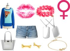 """""""Doggy Diva"""" by animelov3r ❤ liked on Polyvore"""
