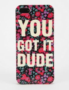 You got it dude, design your own dude phone case with quote you like.