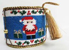 Mini Drum stitched by Judy P.