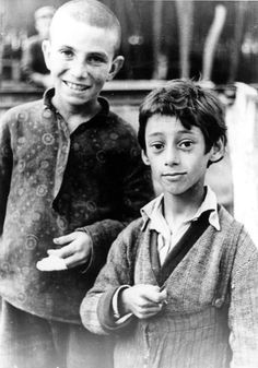 Romania, Two Jewish children, 1939. Such sweet faces that will sadly be exterminated