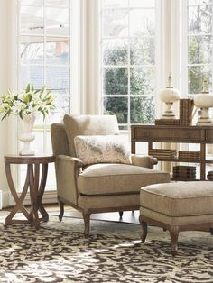 Traditional warmth with a streamlined façade, the Kenton Chair is sure to make a stately impression amongst any existing décor. Classically designed and cleanly styled, this upholstered chair offers an updated traditional design that is sure to catch the eye and add comfort in your living room seating area.