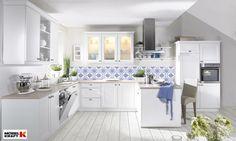 weiße #Landhausküche #nolte http://www.moebel-kraft.de/kuechen/