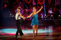 Rachel Riley And Pasha Kovalev perform in Week 3 of Strictly Come Dancing 2013