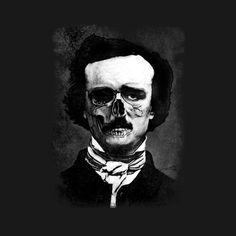 Awesome 'Edgar+Poe' design on TeePublic!