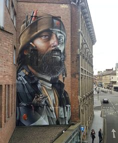 "3,827 Me gusta, 14 comentarios - Hi-Fructose Magazine (@hifructosemag) en Instagram: ""Australia-born graffiti artist Smug One uses walls and structures across the world as canvases for…"""