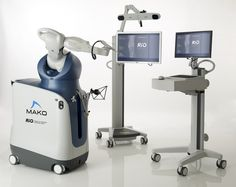 Makoplasty robotic arm knee surgery, partial knee resurfacing procedure used by Dr. Tarlow can return your knee's natural motion and feel. Partial Knee Replacement, Knee Replacement Surgery, Surgical Robots, Houston, Robotic Surgery, Knee Surgery, Medical Technology, Medical Robots, Medical Coding