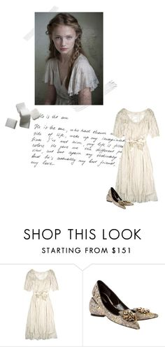 """""""Ghost Story"""" by martha-liberty ❤ liked on Polyvore featuring Lauren Moffatt and Dolce&Gabbana"""