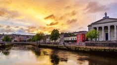 https://flic.kr/p/oYDfCT | River Lee, Cork | This picture shows the secret capital of Ireland, the city of Cork. Crossing the picture you can see the river Lee which reflects the light of the fading sun.  More about me can be found here: www.daniel-heine.artistwebsites.com