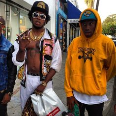Trinidad James X Tyler, The Creator Trinidad James, Paper Fashion, Fashion Art, Odd Future Wolf Gang, Hip Hop, Young Jeezy, Earl Sweatshirt, Famous Singers, Music Pictures