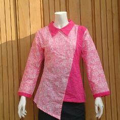 blus batik lengan panjang bernadetta harga 800rb sekodi SMS atau WA ke 085728065344