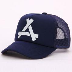 b93dc2c231c New Summer Mesh Cap Snapback Dad Hat Fashion Polo Trucker Adjustable  Baseball Cap Hip hop Kanye God Pray Ovo Women Men Hat-in Baseball Caps from  Men s ...