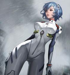 Neon Genesis Evangelion - Rei, by g o 91