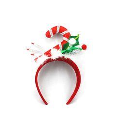 Holiday Cheer Candy Cane Headband