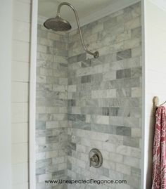 If you want to renovate your shower but aren't an expert, check out this DIY Shower Renovation! The Schulter Kerdi shower system makes the job a whole lot easier. Restroom Design, Restroom Ideas, Restroom Remodel, Bath Remodel, Small Shower Remodel, Simple Bathroom, Bathroom Ideas, Master Bathroom, Master Shower