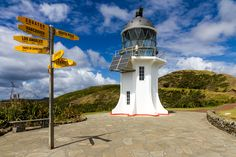 """500px / Photo """"Cape Reinga Lighthouse"""" by Russell Charters"""