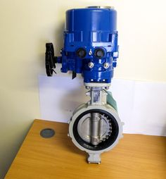 "6"" Butterfly Valve fitted with an electric actuator. Suitable for commissioning requirements."