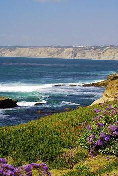 ✯ La Jolla Cove, San Diego, California. One of my favorite places to vacation. It's so beautiful!! I know I say it a lot and I'm admittedly biased, but California is just pretty awesome =)