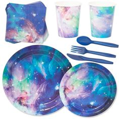 Serves 24 Cosmetic Galaxy Stars Universe Outer Space Party Supplies for Kids (Over 60 Piece), Multicolor Product Description 1 X Party Supply Cosmic Galaxy Party Supplies for Birthdays & Celebrations Pack) PRODUCT: Party . 10th Birthday, Birthday Celebration, Girl Birthday, Birthday Parties, Outer Space Party, Party Favor Bags, Party Packs, Party Accessories, Party Supplies