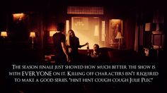 exactly!!! Can't u just bring Alaric and Lexi back!!! At least give me that...please!
