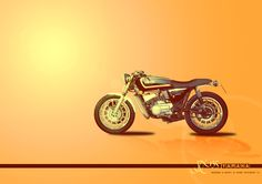 it is my yamaha RX135 motorcycle i customize it in photoshop ...