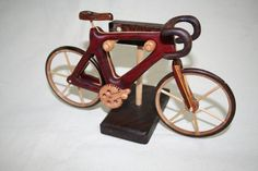 Stephen Baldwin, who makes amazing wooden toys. Stephen Baldwin, Unique Gifts For Dad, Handmade Wooden Toys, Wood Art, Antique Cars, Bicycle, Woodworking, Artists, Antiques