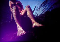 Underwater Lomo Photo