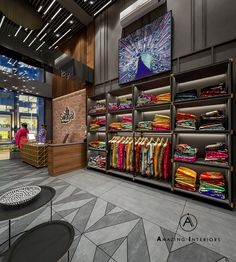 Fashion store design Ideas Clothes Shop Interior Boutiques For 2019 Protect Your Patio With Viny Boutique Design, Design Shop, Modegeschäft Design, Boutique Decor, Floor Design, Ceiling Design, Boutique Ideas, Studio Design, Showroom Interior Design