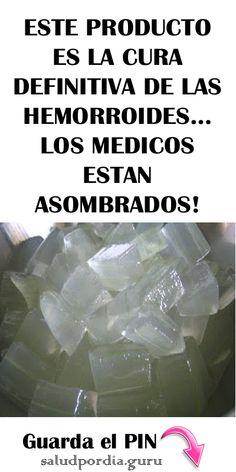 ESTE PRODUCTO ES LA CURA DEFINITIVA DE LAS HEMORROIDES… LOS MEDICOS ESTAN ASOMBRADOS! #HEMORROIDES #salud #saludable #remedios