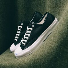656c3f1a455  converse and their latest Jack Purcell Signature in black leather.  Available in store now