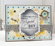 Embellished Dreams: Grand Birthday Sentiments Cling Stamp Set - JustRite Papercraft September New Release Day 4