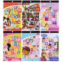 Licensed Character Sticker Books