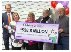 First Powerball Lottery Jackpot Winners Claim Prize