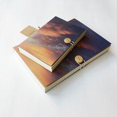 Marmalade sky , Evening sky , Sunset sky notebook by PlutoKaleidoscope on Etsy https://www.etsy.com/listing/236819274/marmalade-sky-evening-sky-sunset-sky