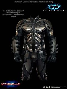 Batman Motorcycle Suit – The Dark Knight. Cost: Unknown