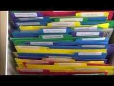 Embossing Folder Storage Using the Envelope Punch Board