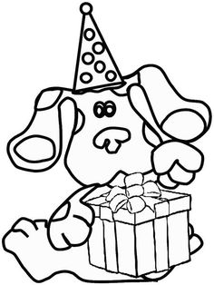 19 best Coloring Pages-Blue\'s Clues images on Pinterest | Blues ...